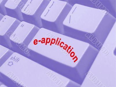 internet e-application