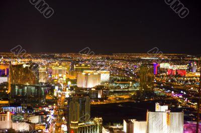 Las Vegas, Nevada, at night