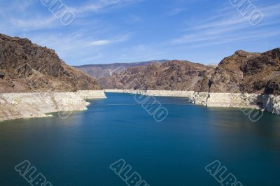 Hoover Dam at Lake Powell