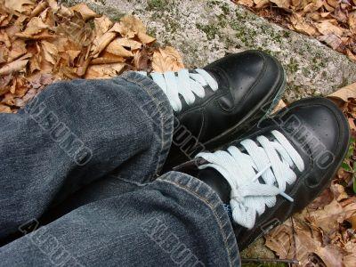 Feet Resting