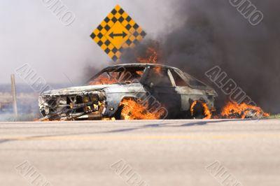 Car blaze