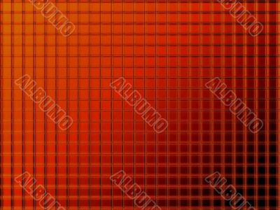 acrylic surface in red