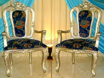 traditional wedding ceremony chairs