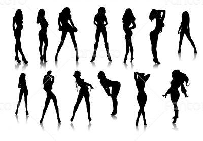 Black sexy girls icons