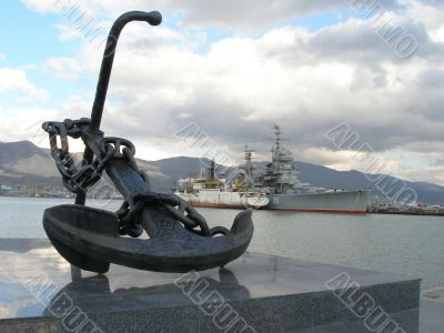 Russia, Novorossiysk on the waterfront