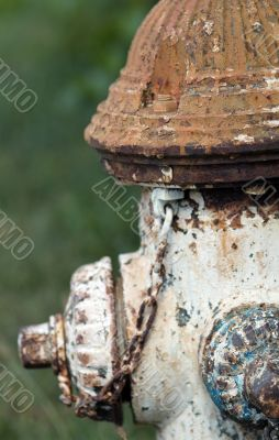rusty old hydrant