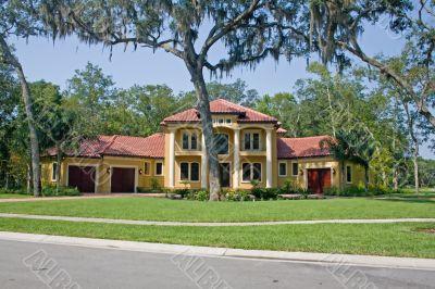Mediterranean style Florida home
