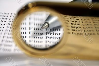 Read The Fine Print