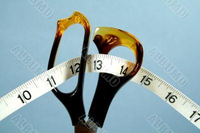 Tailor Scissors And Tape Measure