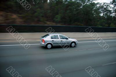 car travelling