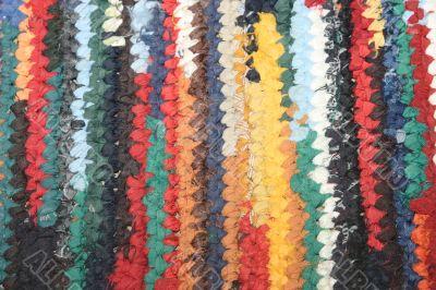 Hand-made door mat