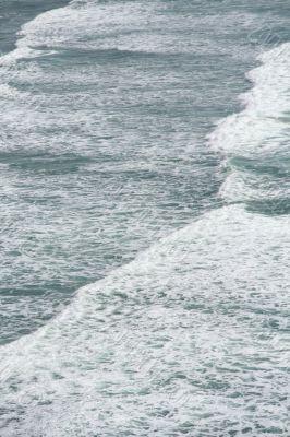 Surf along long beach