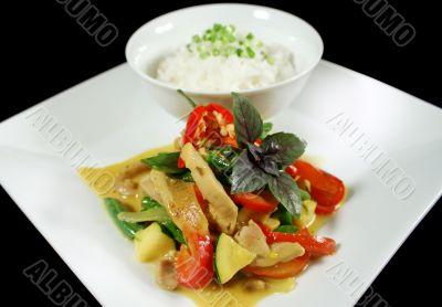 Creamy Thai Chicken Curry 1