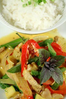 Creamy Thai Chicken Curry 2