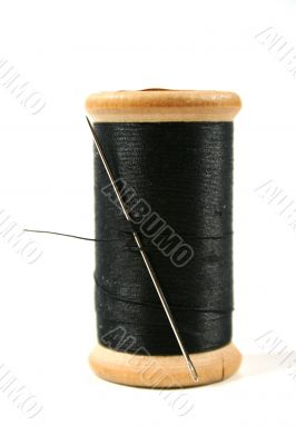 Grandma`s Needle And Thread