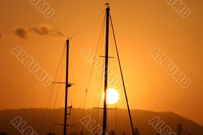 Masts In The Sun