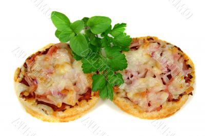 Ham And Cheese Pizza Bites1