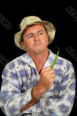 Inquiring Farmer