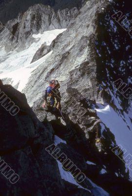 Climber, West Ridge