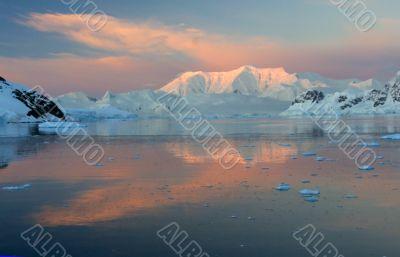 Sunset & alpenglow