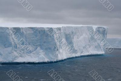 Tabular iceberg in Antarctic Sea