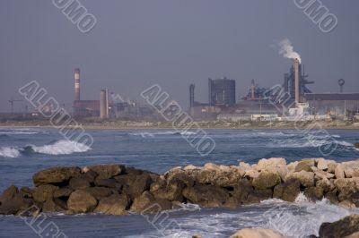 Beach refinery