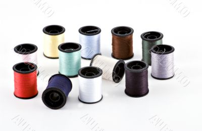 12 spools of thread