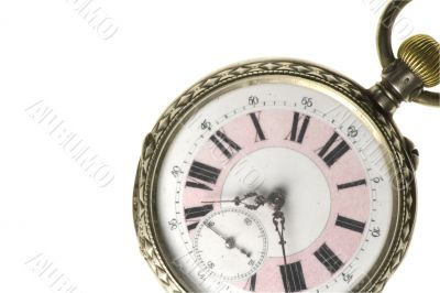 old roman numeral pocket watch