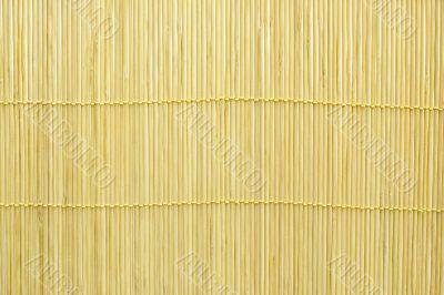 Yellow bulrush mat background