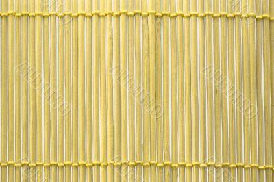 Yellow bulrush mat macro background