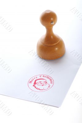 rubber ink stamp