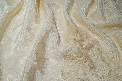 Silk and lace