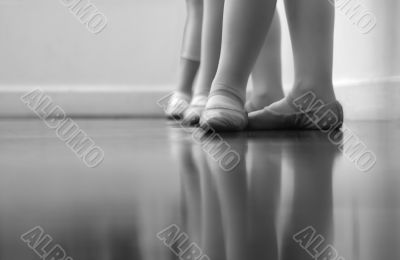 Dancers and legs and feet