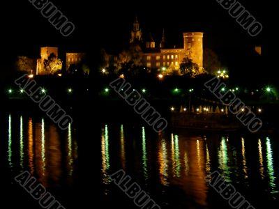 Wawel. Krakow. An ancient part of city.