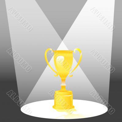 Trophy Award in Spotlight