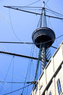 Mast of Portuguese Galleon