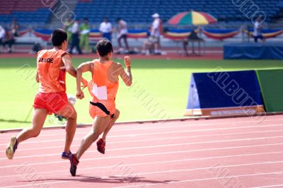 Athletics for Blind Persons