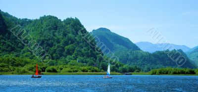 Derwent Sail Boats