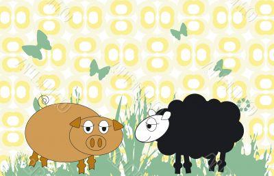 Farm animal series