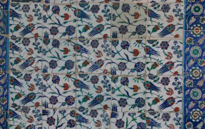 Iznik tiles, intricate patterns