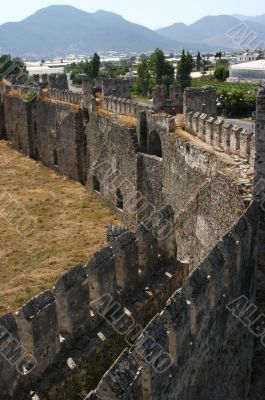 Mumure Castle -	crenellations