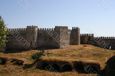 Mumure Castle -	Outer walls