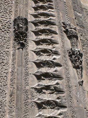 Detail, carved designs, Seljuk