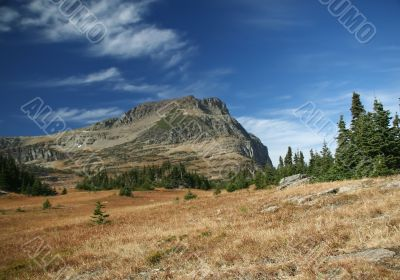 Logan pass,Bearhat Mountain