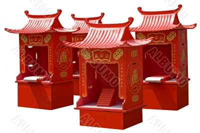 Housing/Pedestal for Taoist Gods