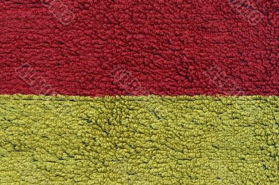 Canvas red and yellow texture