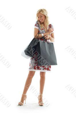 shopping girl #3