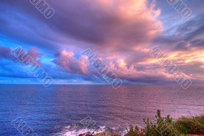 mystic coastline dusk