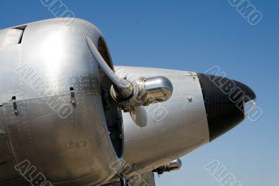 Aeroplane Close up