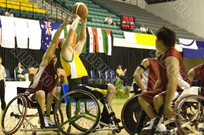 Wheel Chair Basketball for Disabled Persons